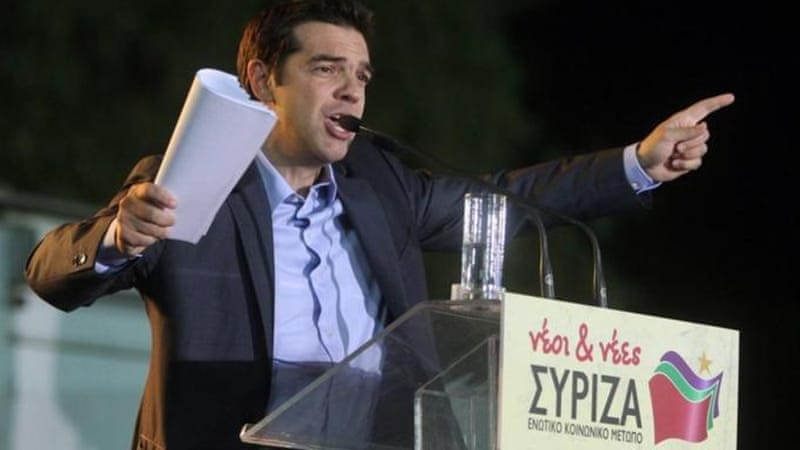 Main opposition party Syriza went from just 4.6 percent of the vote in 2009 to 27 percent last June [EPA]