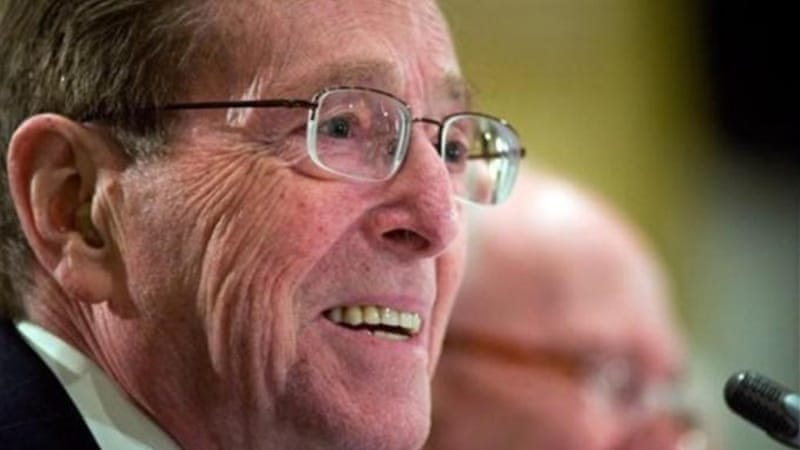 Former New Mexico Senator Pete Domenici disclosed recently that he has a son born in secrecy over 30 years ago [AP]