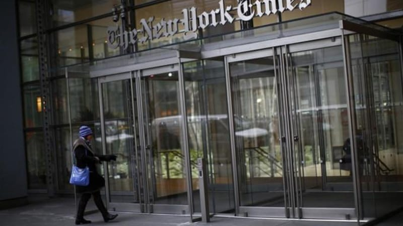 The Chinese government has been blamed for recently hacking the New York Times - an allegation they deny  [Reuters]