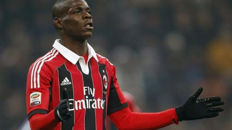 Balotelli also found himself the victim of Italian fans racist chants in 2009 before move to Man City [Reuters]