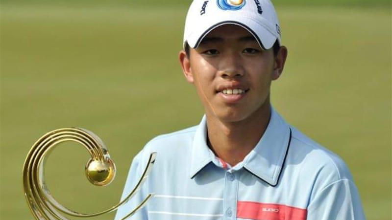 Tianlang won the Asia-Pacific Amateur Championship to gain entry into the U.S. Masters [Reuters]
