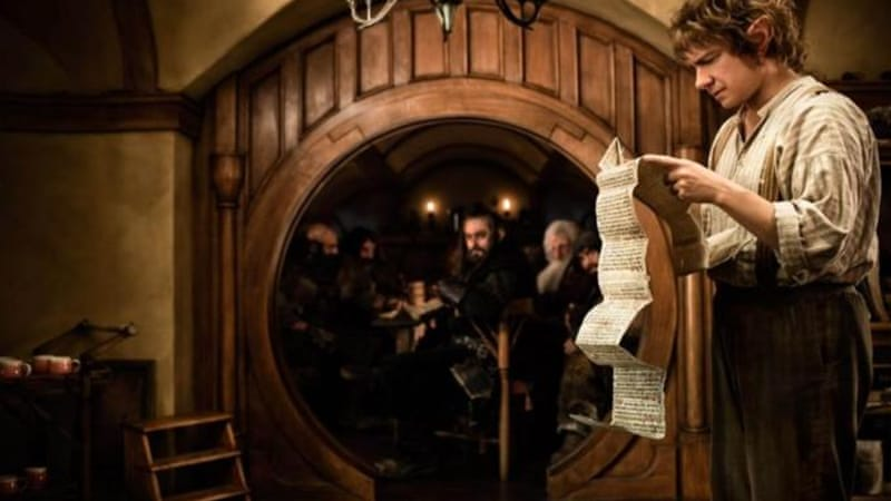 Despite The Hobbit's lukewarm response from critics, it was a box-office hit [AP]