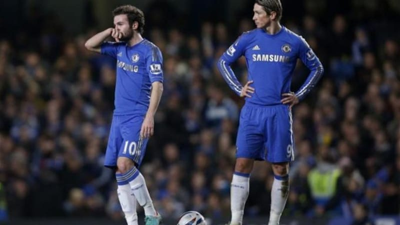 How much can a footballer be paid? Chelsea's Torres (R) and Mata (L) benefit from current system [AP]