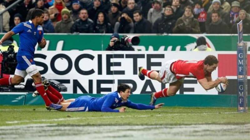 North scores try that helps Wales to much needed win as France continue terrible start to competition [GETTY]