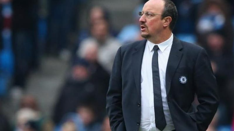 Benitez' contract with Chelsea expires at end of the season but there is already pressure mounting [GETTY]