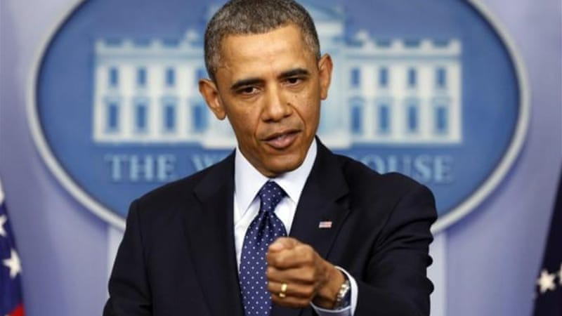 US President Barack Obama has laid the blame on the sequester squarely on the shoulders of the Republicans [Reuters]