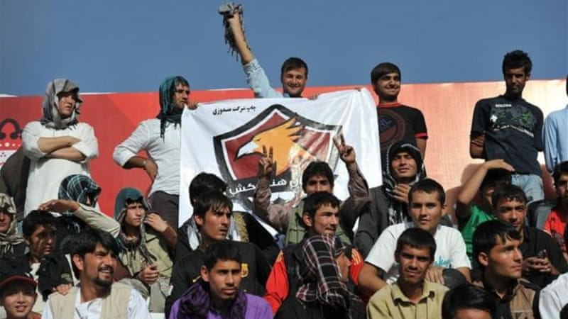 World body FIFA wants to build on Afghanistan by promoting domestic football leagues [AFP]