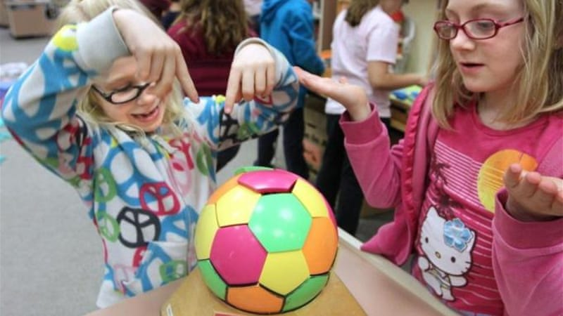 Combining science with games is a promising way to encourage children to study, making it fun and educational [AP]