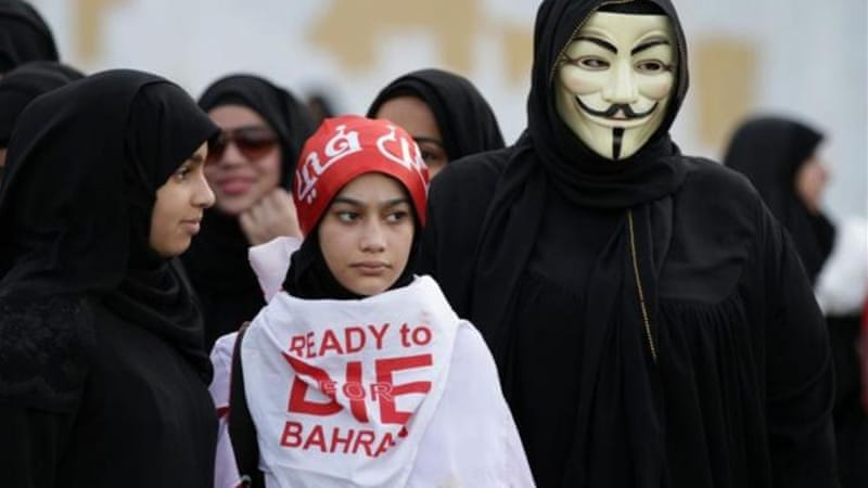 Bahraini dissidents are regularly imprisoned for dissenting opinions, even if they're on social media platforms [AP]