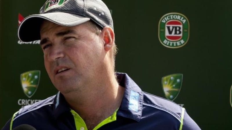 Australia coach Mickey Arthur is upbeat despite series thrashing and recent suspensions [AFP]