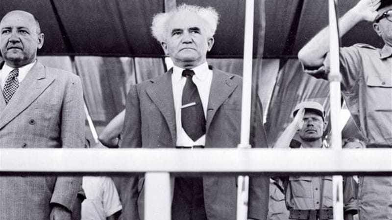 Even David Ben-Gurion, the first Prime Minister of Israel, recognised that their actions were tantamount to theft [AFP]