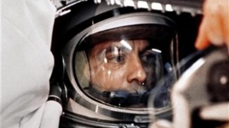 Due to a delay, US astronaut Alan Shepard was supplanted by Yuri Gagarin to be the first human in space [AP]