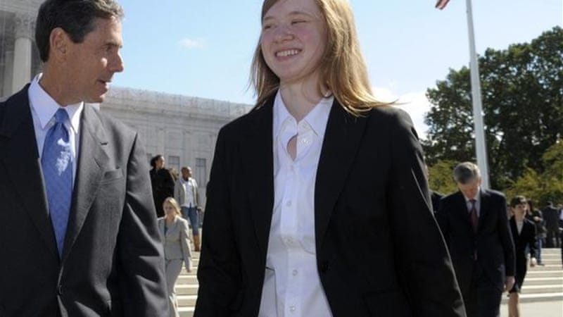 Abigail Fisher v the University of Texas, until recently, was the latest case to plot affirmative action's future [AP]