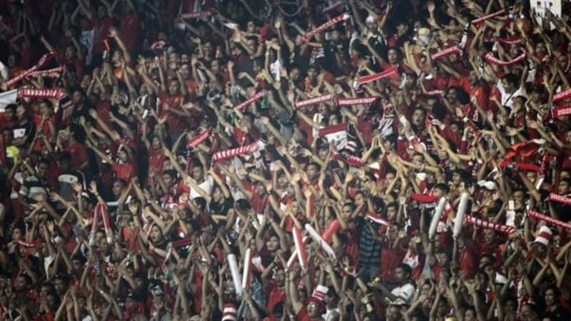 The fans continue to support their nation despite corruption and poor management at top [EPA]