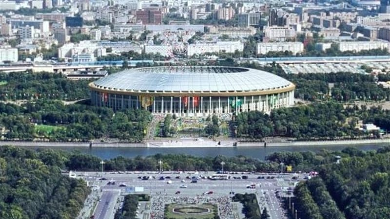 Luzhniki stadium will host the World Athletics Championship in August 2013 [EPA]