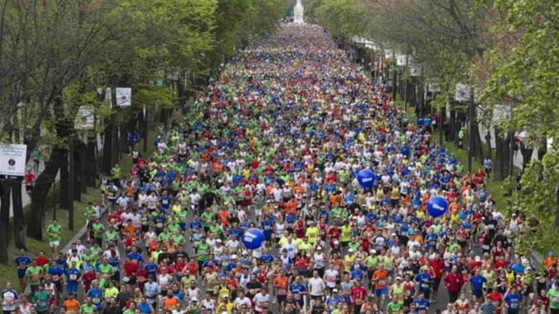 Extra plans are being made ahead of Madrid marathon following three deaths at Boston race [Reuters]