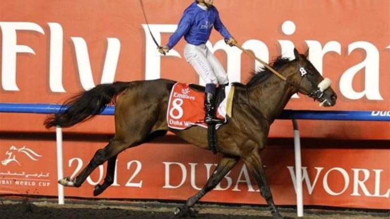 Ridden by Mickael Barzalona and trained by Al Zarooni, Monterosso won The Dubai World Cup in 2012 [Reuters]