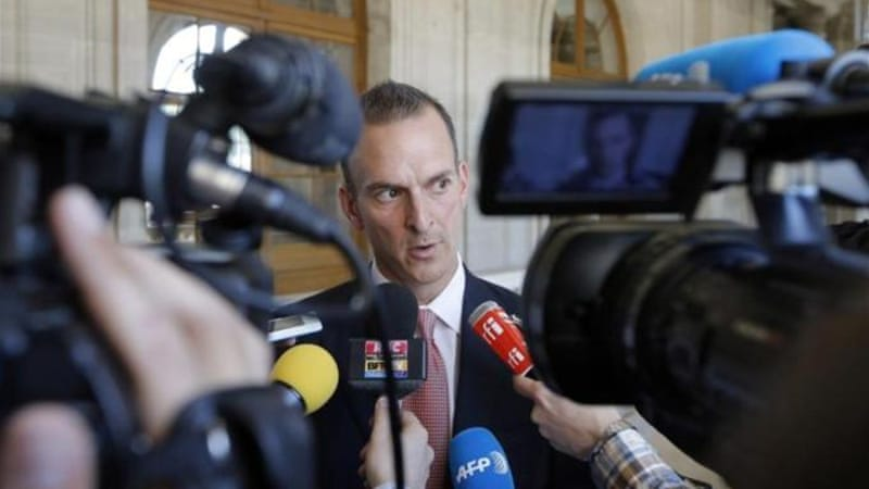 Tygart speaks to press before a senate-led inquiry into the fight against doping in Paris, France [AP]