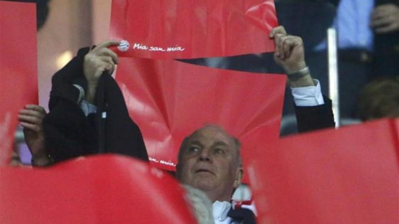 Chancellor Angela Merkel has said she is 'disappointed' in Hoeness who admitted to 'grave mistake' [Reuters]
