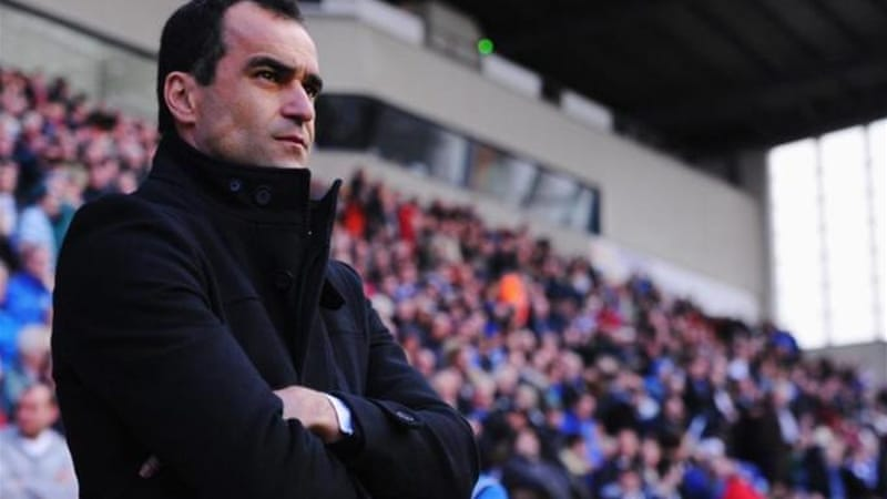 Wigan manager Martinez was a minute away from his first league win since March [GETTY]
