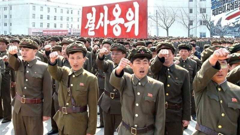 North Korea has in recent weeks stepped up its rhetoric threatening an attack against the US [Reuters]
