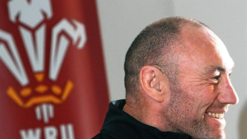 With Warren Gatland in charge of the Lions, Robin McBryde (pictured) has taken over the Welsh team [AFP]