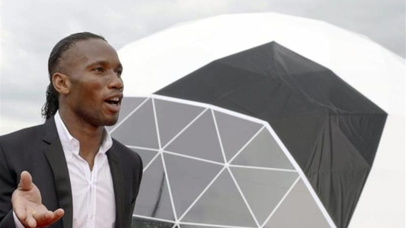 After playing a vital role in Ivory Coast politics, Drogba is now using profile to battle racism [EPA]