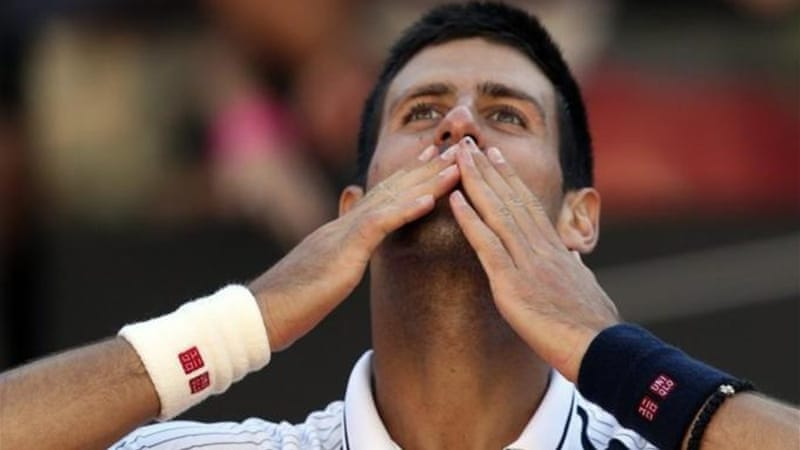 Djokovic looks to have recovered from a twisted ankle against Spain's Albert Montanes [Reuters]