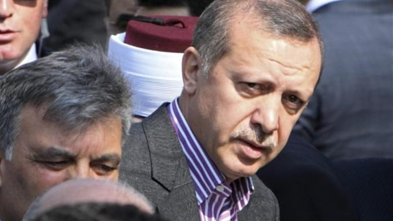 Turkey's Prime Minister Recep Tayyip Erdogan was once imprisoned for reciting a religious poem [Reuters]
