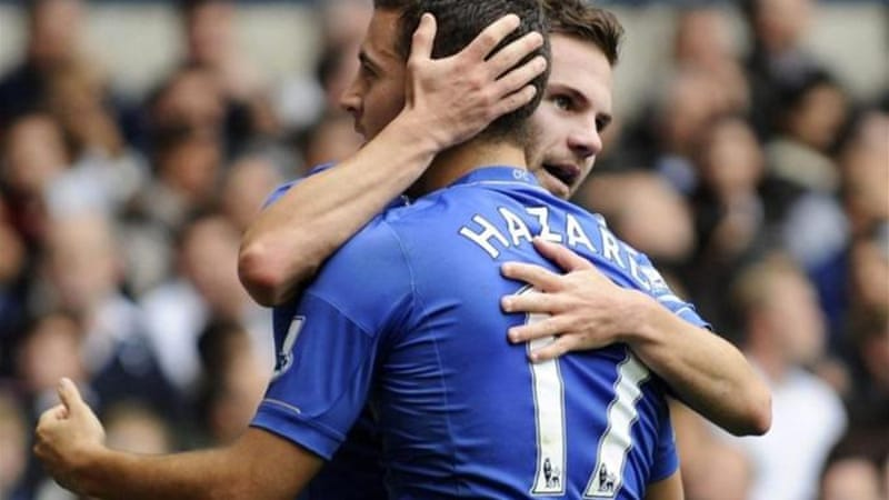 Mata and Hazard have played crucial roles in getting Champions League champions to another final [EPA]