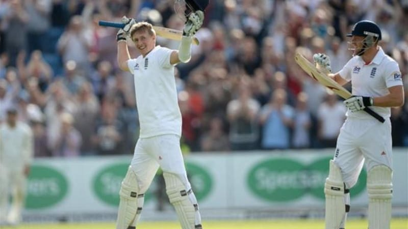 At home ground Headingley, Root became the 11th youngest Englishman to score a Test century [GETTY]