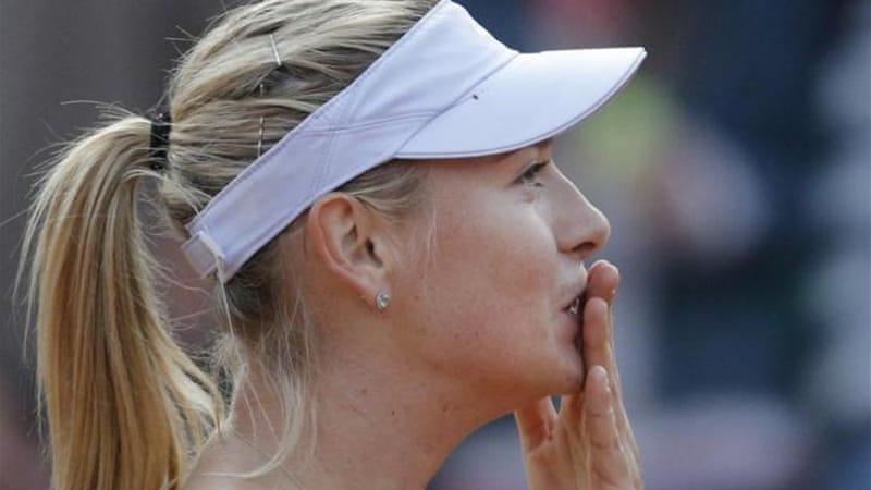 The venue where she completed her career Grand Slam, the French Open has happy memories for Sharapova  [AP]