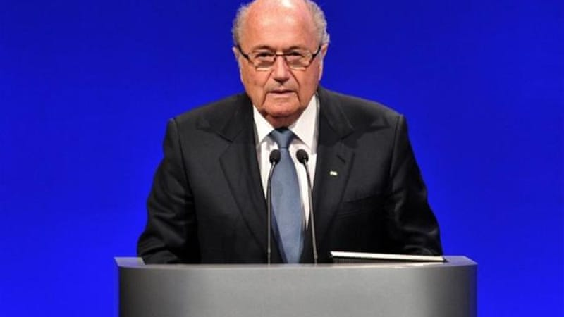 FIFA President Blatter's future is uncertain [AFP]