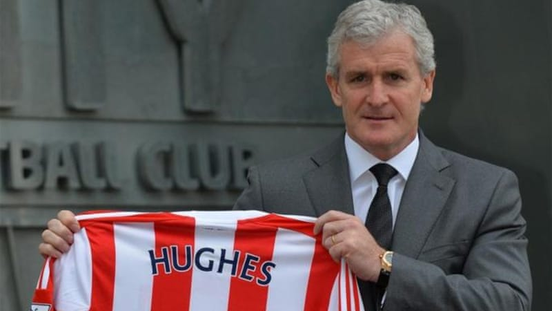 Welshman Hughes said he wanted to build on the good management of Tony Pullis [AFP]