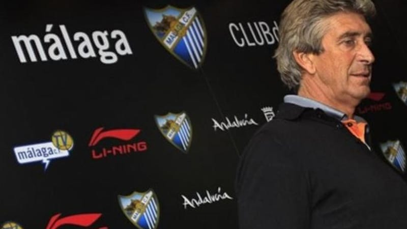 Malaga have lost Chilean coach Manuel Pellegrini and their last chance to compete in Europa League [AP]