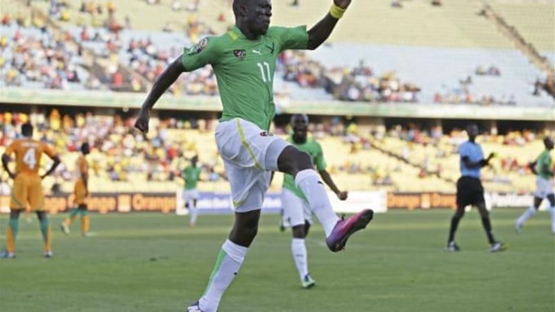 Togo's Jonathan Ayite (pictured) and Alexis Romao have already refused to play in Libya [AP]