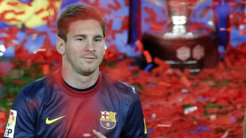 Messi is one of the world's richest sports stars with a salary of just over $20 million a season [Reuters]