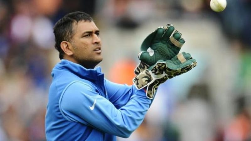 Captain Dhoni and India must keep eye on the ball if they are to defeat a hungry home side [Reuters]
