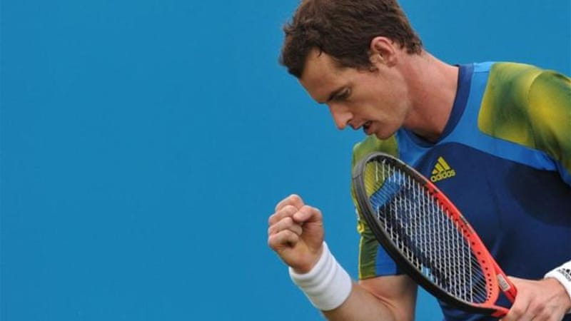 Murray has a strong record at Wimbledon reaching semi-final stage, at least, for last four years [AFP]