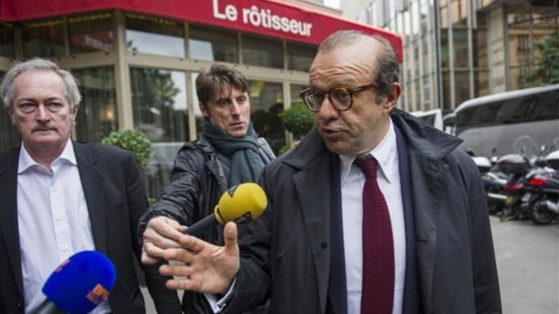 Tapie's lawyer said the charges were completely unfounded and claimed his client would be cleared [AFP]