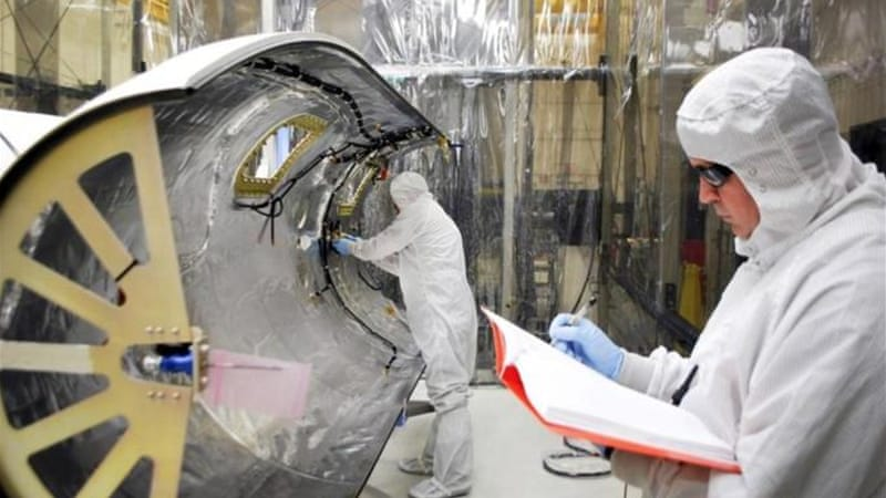 The $182 million mission is expected to last at least two years, and will observe the movement of solar material  [AP]