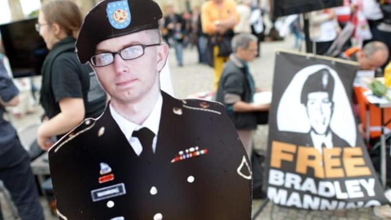 "US Army Pfc Bradley Manning has been charged under the Espionage Act with ""aiding the enemy"" [EPA]"
