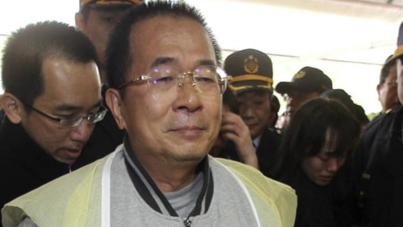 Chen Shui-bian is serving a 20-year sentence for corruption offences during his tenure [Reuters]