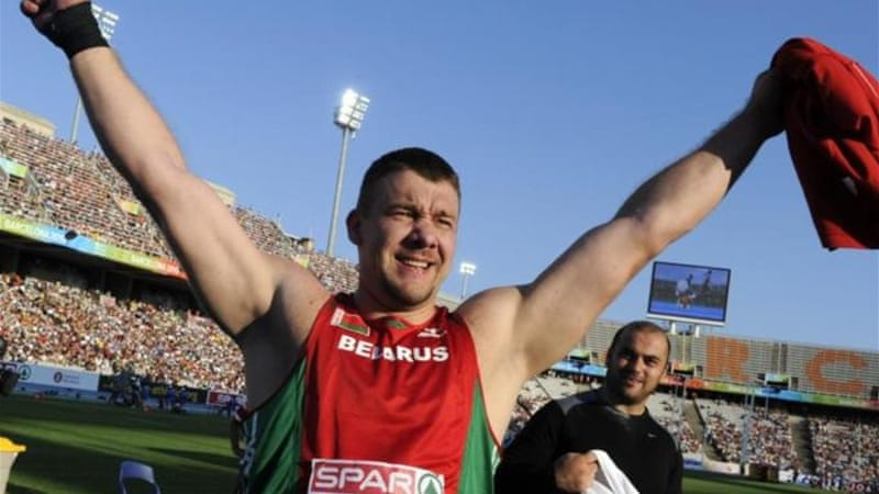 Mikhnevich will be stripped of 2010 European Championships medal and many others if IAAF approve Belarus' decision [AFP]