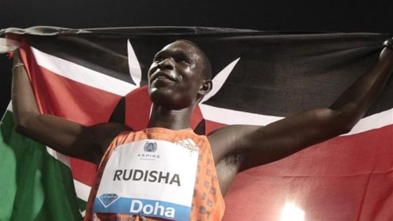 Rudisha broke his own world record during London 2012 when he won gold in the 800m [Reuters]