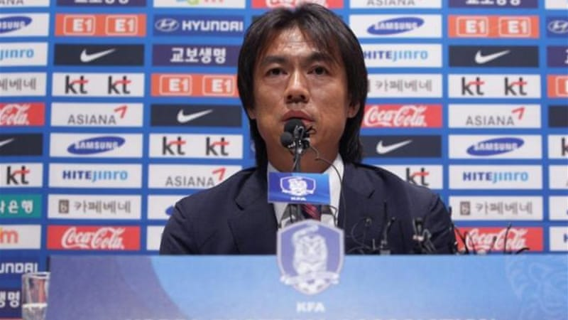 New coach Hong Myung-Bo (pictured) will lead South Korea to World Cup after Choi Kang-hee's resignation [GETTY]