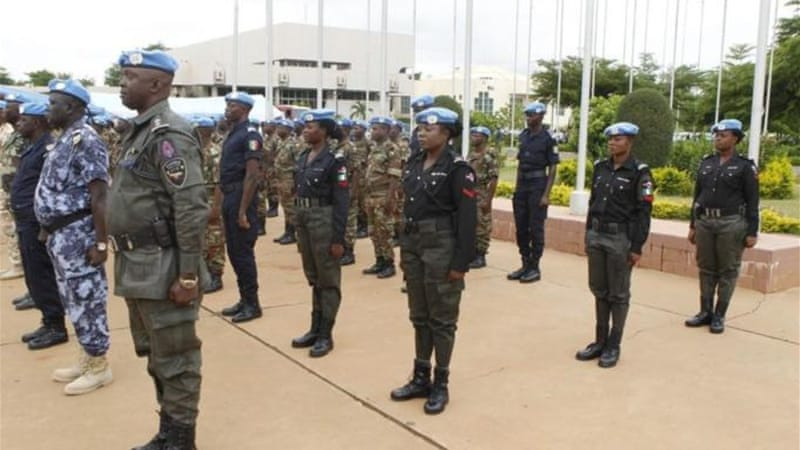UN peacekeepers deployed to Mali in early July will ensure there is stability in the run-up to the elections [AFP]