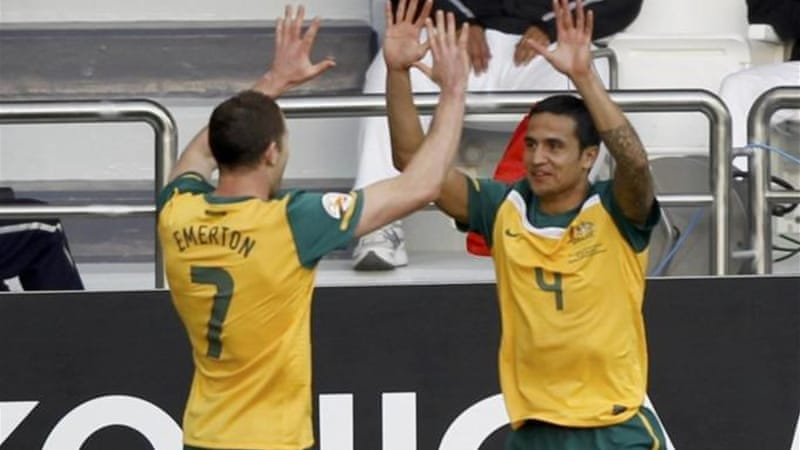 After 2014 World Cup, young talent will be needed to replace stalwarts Tim Cahill (R) and Brett Emerton [Reuters]