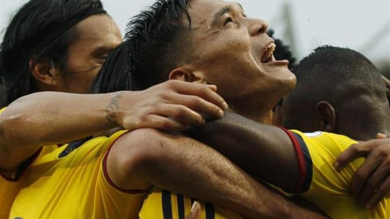 Good behaviour and good form saw Teofilo Gutierrez impress with Atletico Junior and Colombia [AP]