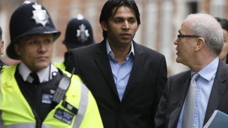 Asif was jailed by a London court in November 2011 after being found guilty of corruption [AP]
